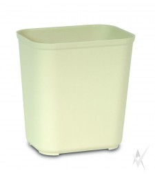 Šiukšliadėžė atspari ugniai. Stiklo pluoštas, dydis 36,8 x 26,7 x 38,9 cm. Talpa 26,5 ltr, smėlio  spalvos