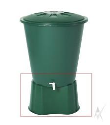 Lietaus talpos 210 litrų pagrindas, plastikinis. Svoris 2 kg.