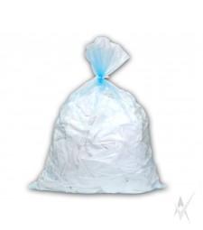 Tirpstantis vandenyje skaidrus maišas su skaidria virvute infekuotiems skalbiniams skalbti, 50 vnt. PE vokelyje. 500 vnt maišų kartoninėje dėžėje. Išmatavimai: 66x84 cm. Talpa 87 ltr. Storis 20 mk.