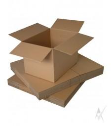 Kartono dėžė, medicininių atliekų pakavimui,su holograma, dėžės matmenys 500x250x400 mm. 3 sluoksniai, kartono storis 4 mm, tūris 1,03 m2 Tankis 460 g/m². Atsparumas paspaudimui 600 kPa. Išlaiko iki 20 kg. svorį