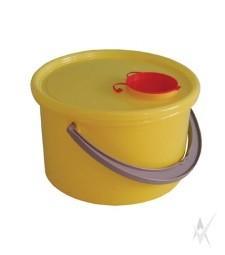 Konteineris medicininėms atliekoms surinkti, vienkartinis Talpa nuo 5000 ml