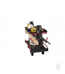 Transportavimo vežimėlis A rėmu