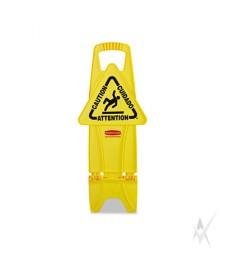 """Saugos ženklas """"Dėmesio"""", pastatomas, dvipusis"""