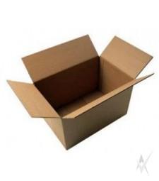 Dėžė, medicininėms atliekoms. Kartonas,sienelės storis 3,9 mm, C14R, talpa 1,03 m2,matmenys 500 x 250 x400 mm., rudos spalvos.