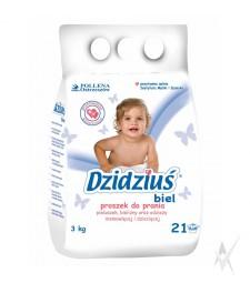 Skalbimo milteliai Dzidzius kūdikių ir vaikiškiems audiniams, 3 kg