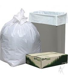 Maišai šiukšlėms, dėžeje, pagaminti  iš HDPE