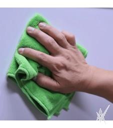 Mikropluošto šluostė Clean, dvipusė, žalios/rožinės spalvos