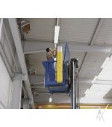 Konteineris lempų atliekoms surinkti ir transportuoti