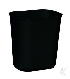 Šiukšliadėžė atspari ugniai. Stiklo pluoštas, dydis 28,3 x 21 x 31,1 cm. Talpa 13,2 ltr, juodos spalvos