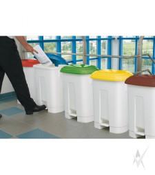 Šiukšliadėžės atliekų rūšiavimui patalpose