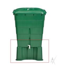 Lietaus talpos 203 litrų pagrindas, plastikinis. Svoris 2 kg.