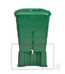 Lietaus talpos 300 litrų pagrindas, plastikinis. Svoris 3 kg.