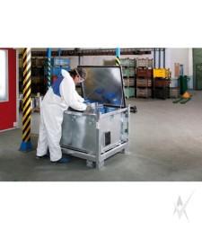 Konteineris įvairioms pavojingoms atliekoms surinkti, cinkuotas, 500 litrų