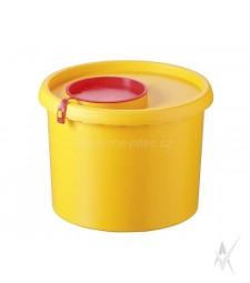 Konteineris medicininėms atliekoms surinkti, vienkartinis, 1000 ml