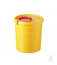 Konteineris medicininėms atliekoms surinkti, vienkartinis, 1500 ml