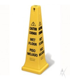 """Saugos kūgis """"Dėmesio"""" ir """"Slidžios grindys"""""""
