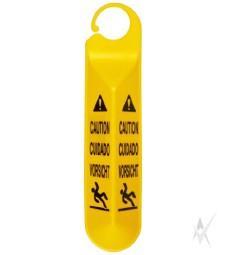"""Saugos ženklas """"Slidžios grindys"""", kabinamas"""