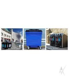 Konteineris atliekų rūšiavimui ar surinkimui Continental, metalinis, 1100 litrų talpos