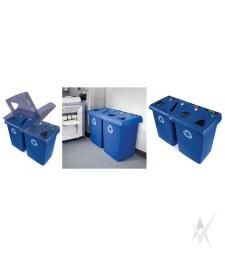 Šiukšliadėžių sistema atliekų rūšiavimui Glutton